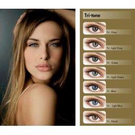 Цветные линзы от Adore TRI-TONE - это натуральные оттенки и защита глаз.