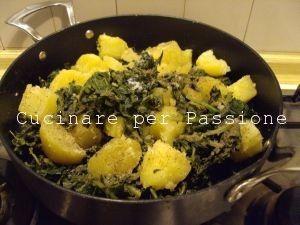 i grugni ripassati in padella con le patate