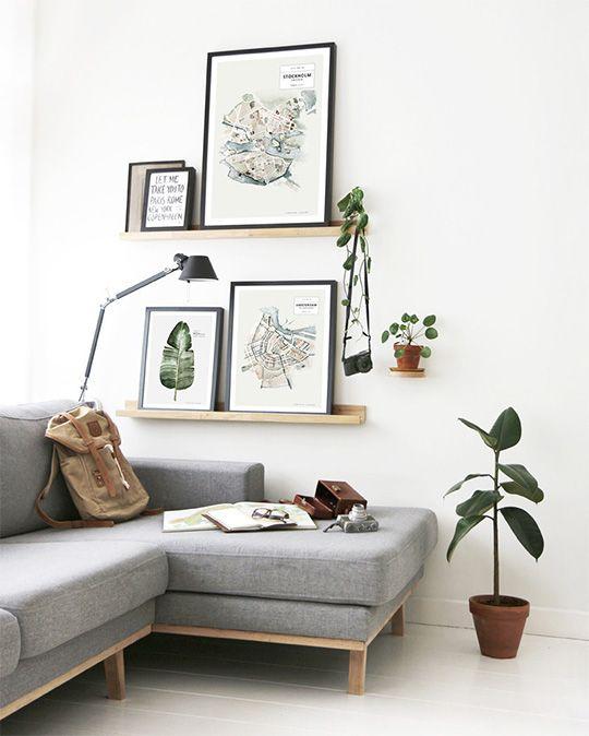men's apartment art