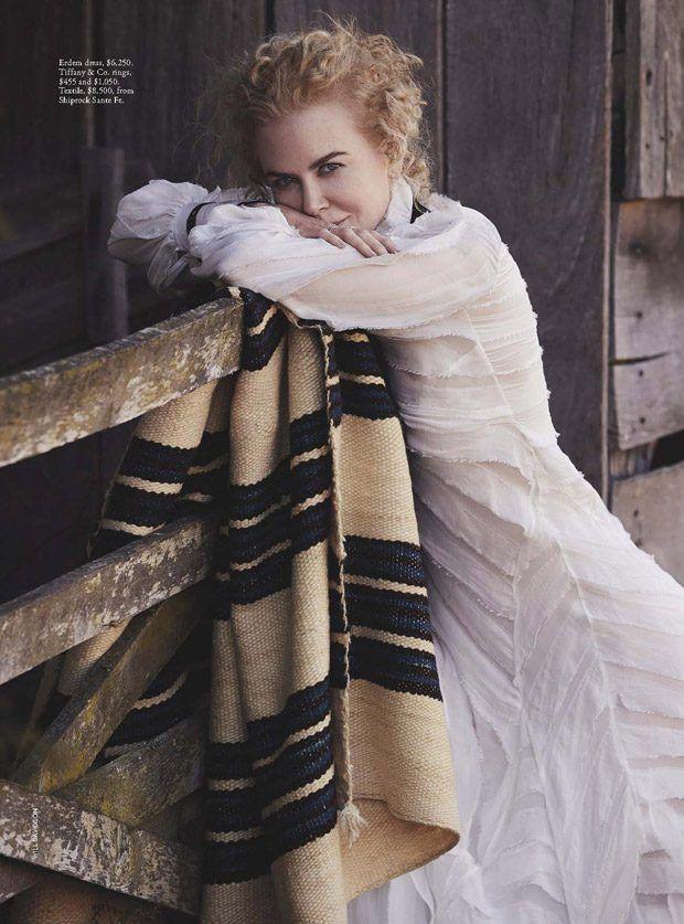 Nicole Kidman Stars in Vogue Australia January 2017 Cover Story