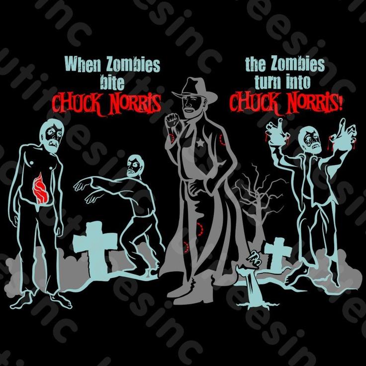 Chuck Norris Living Dead. #chucknorris, #funny, #humor