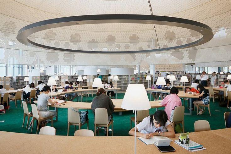 toyo ito gifu city library minna no mori media cosmos japan designboom