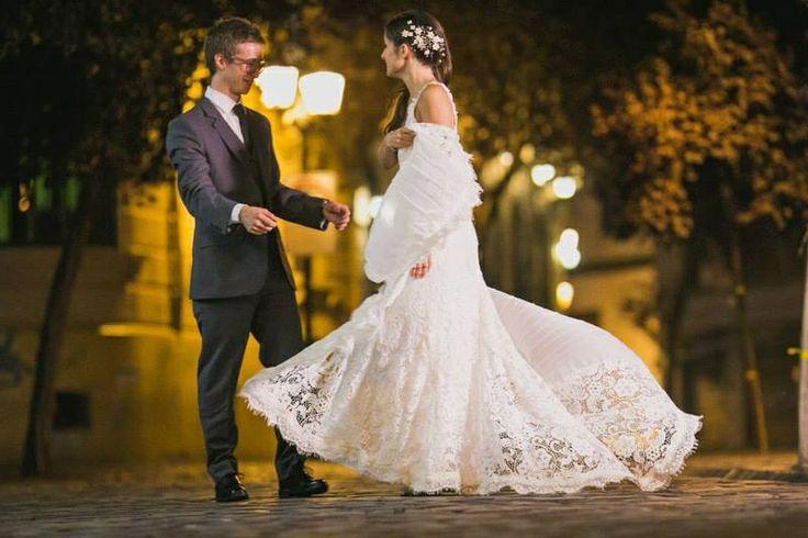 Vestido de novia  de macramé ammancilla@gmail.com