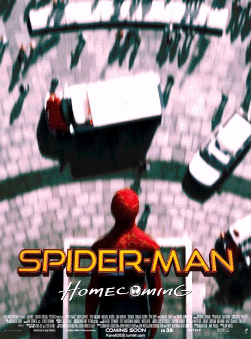 Spider-Man Homecoming GIF Poster