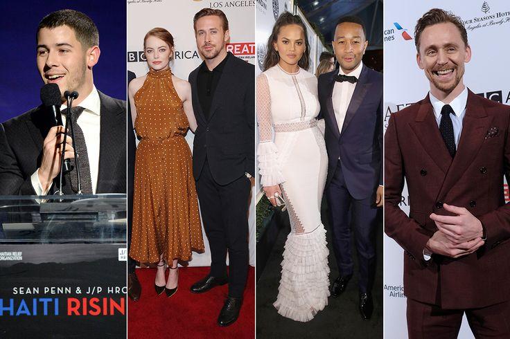 Nick Jonas, Ryan Gosling, Leonardo DiCaprio