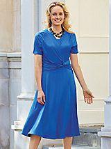 Side Knot Knit Dress   Blair