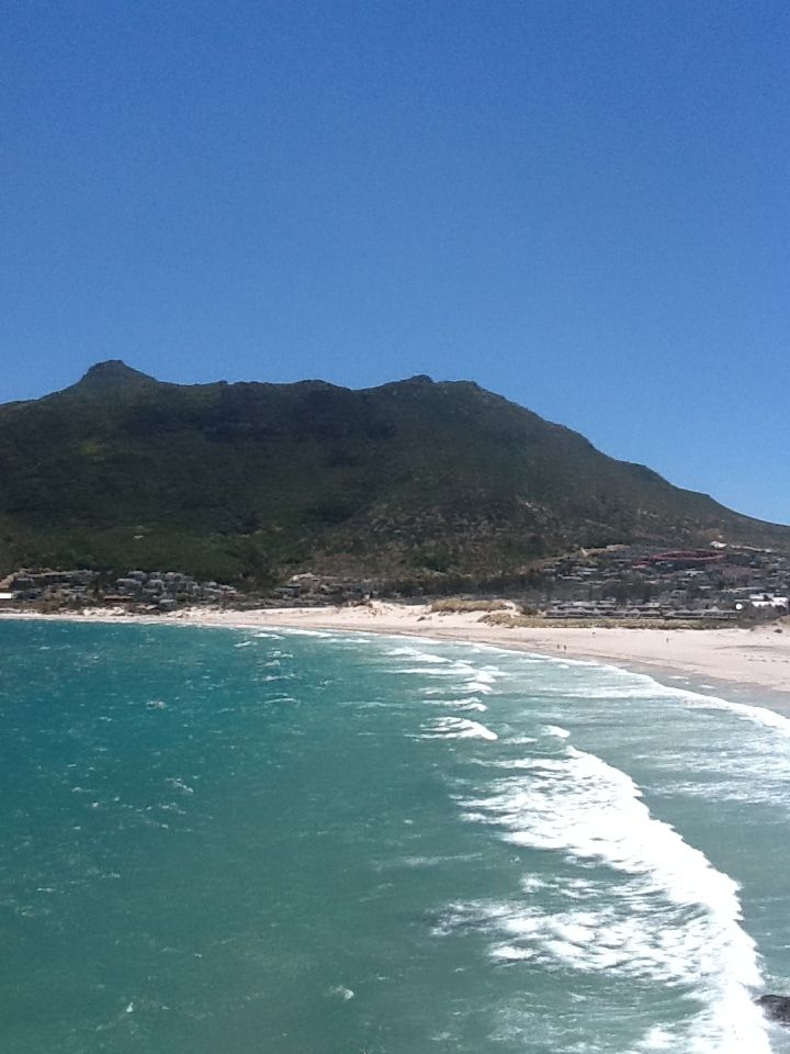 Hout Bay on a windy day.