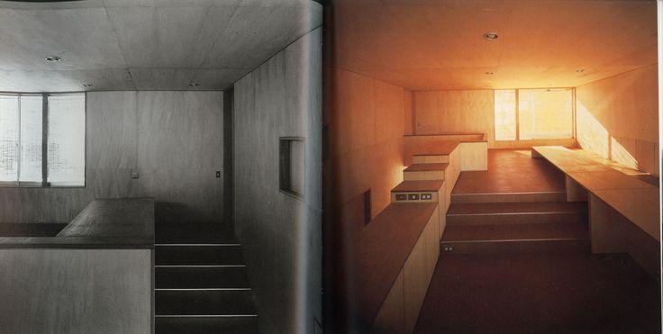 Kazunari Sakamoto, House in Imajuku, 1978. plywood panelling.