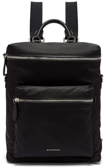 Burberry - London Nylon Backpack - Mens - Black  60c5003c327ba