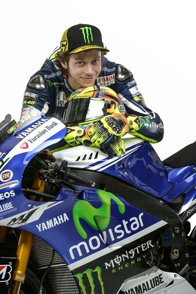 Valentino Rossi Yamaha 2014 #MotoGP livery #vr46 JAMSO helps #performance for life and business. Find out more on http://www.jamsovaluesmarter.com