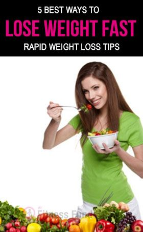 Best Ways to Lose Weight Fast – Rapid Weight Loss Tips. #nutrition