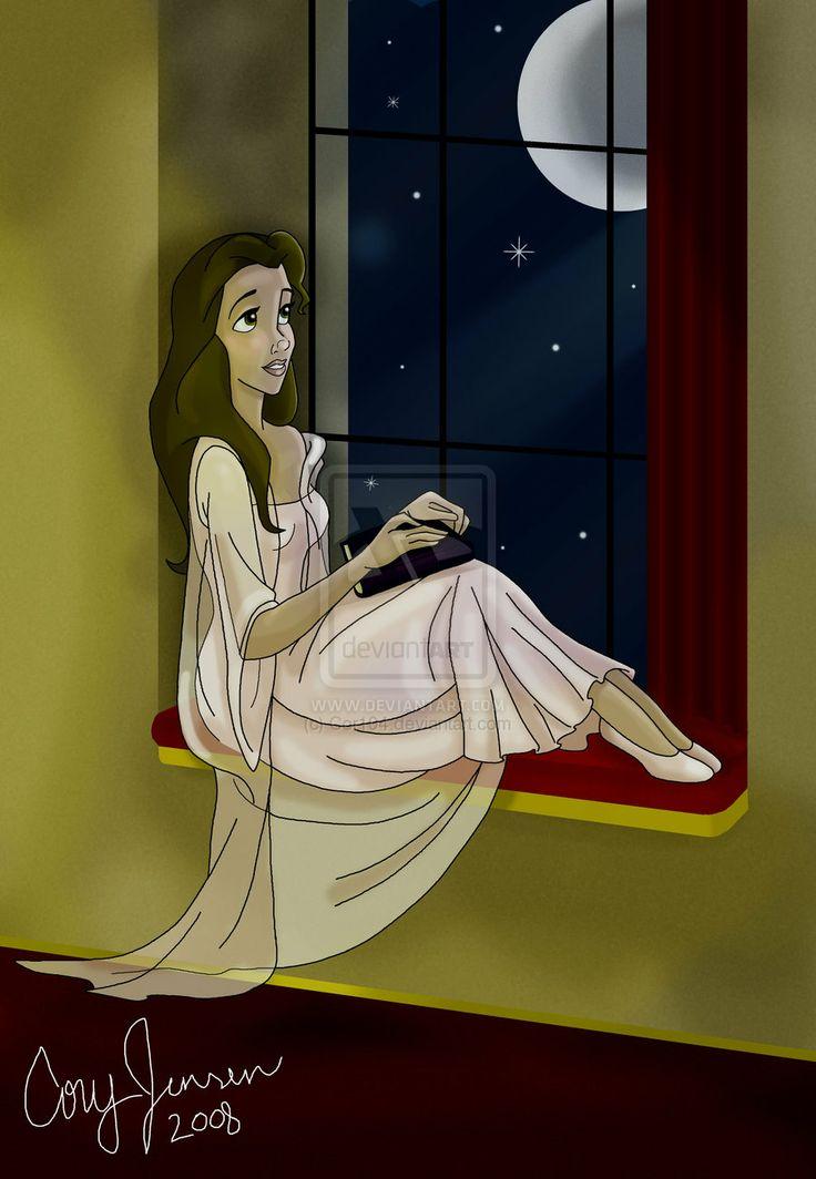 Belle By a Window by Cor104.deviantart.com