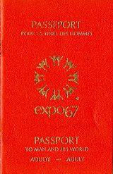 Passeport pour la Terre des hommes. Expo 67
