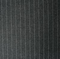 1CM Charcoal Pinstripe