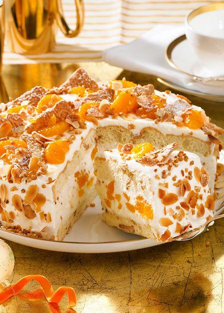 Himmlische Torte mit köstlichem Spekulatius-Crunch. #weihnachten #weihnachtsbäckerei