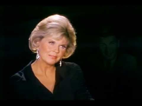 """THE WAY WE WERE"" sung by DORIS DAY, featuring a homage to all her leading men: Rock Hudson, James Garner, Frank Sinatra, James Cagney, David Niven, Ronald Reagan, Kirk Douglas, Cary Grant, and Clark Gable."