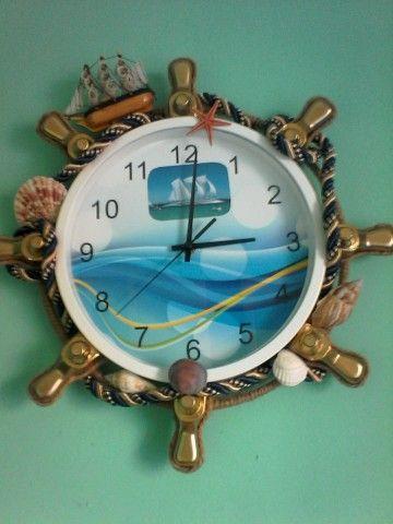 Часы морской тематики