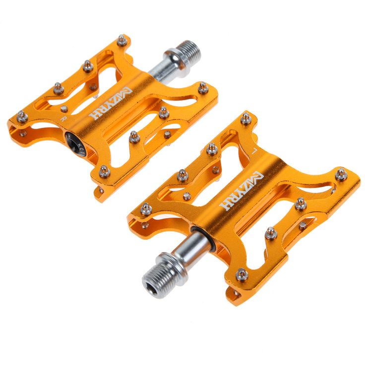 Cycling Bicycle Pedal MTB BMX Bike Alloy Steel Flat Platform Pedals Bearing Bicycle Pedal pedales bicicleta mtb Slip-resistant