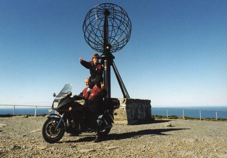 Gloriosa #MotoGuzzi #California indimenticabile viaggio a #CapoNord #NordKapp