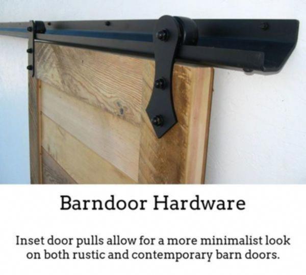 Interior Sliding Doors Barn Track Low Profile Barn Door