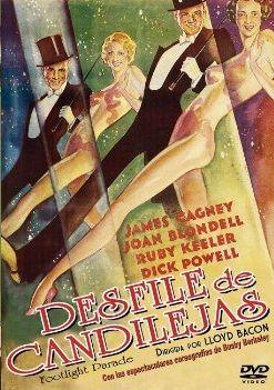"""DVD CINE 2400 - Desfile de candilejas (1933) EEUU. Dir: Lloyd Bacon. Comedia. Romance. James Cagney, o inesquecible """"duro"""" de películas do cine negro como """"Ángeles con caras sucias"""" ou """"Enemigo público"""", encarna aquí con solvencia a un coreógrafo e bailarín que ten que preparar tres musicais a contrarreloxo con espía infliltrado"""