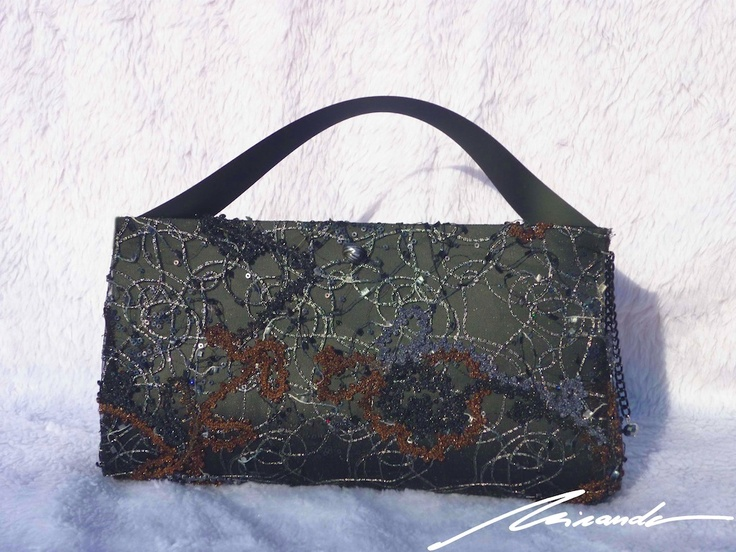 A #black #lace #bag
