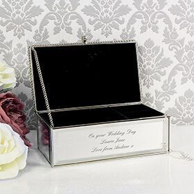 Personalised Mirrored Jewellery Box: Item number: 3710648561 Currency: GBP Price: GBP24.95