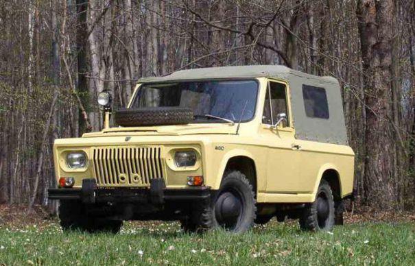 ARO. Old Romanian car.
