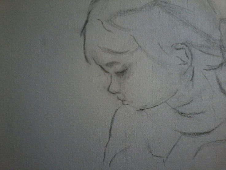 My first underdrawing