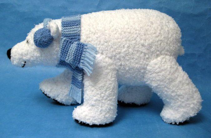 Alan Dart Knitting Pattern: Polar Bear