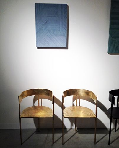 Bronze Chairs By Philippe Malouin