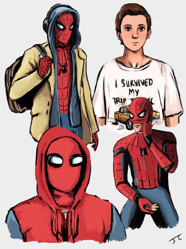Spider-Man: Homecoming by @givemtheolrazzledazzle