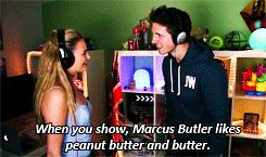 Niomi Smart and Marcus Butler