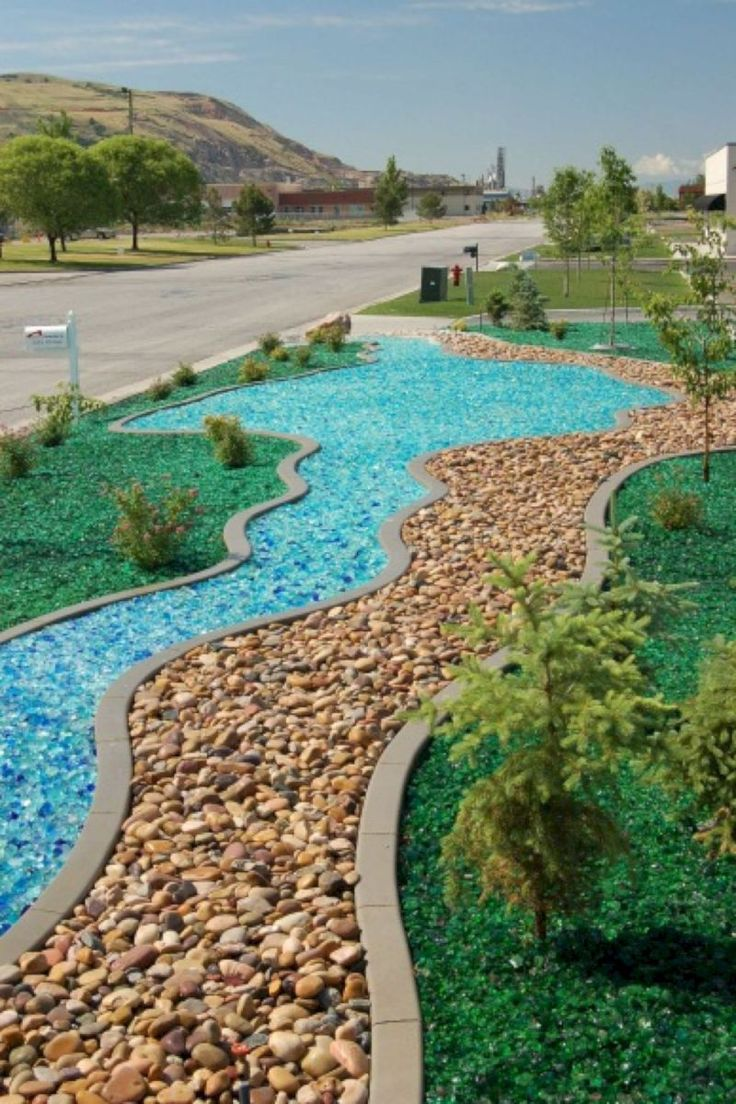 705 best rock garden ideas images on pinterest - Front yard landscaping ideas with rocks ...