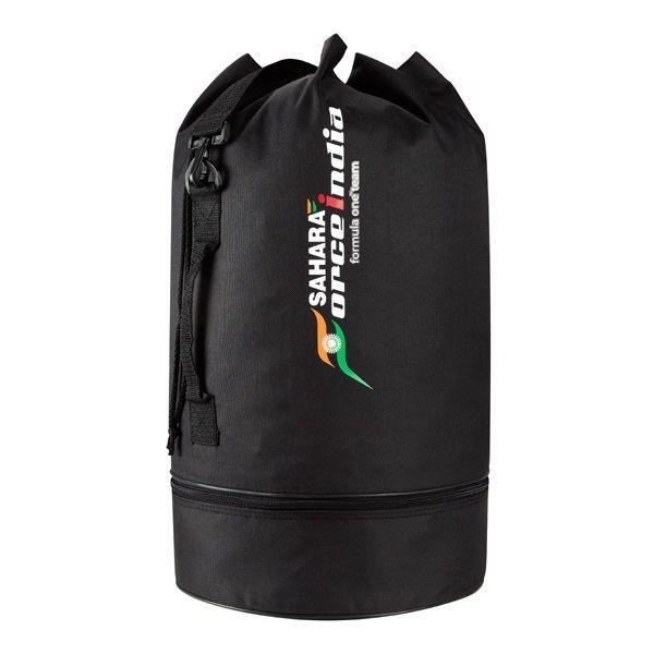 NEW! 2014 SAHARA FORCE INDIA FORMULA 1 TEAM DUFFLE SPORTS BAG - OFFICIAL RANGE