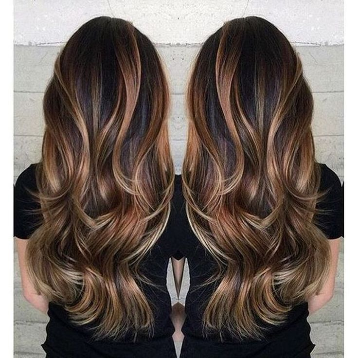 44 Best Hair Style Inspiration from Brunette Balayage Hair
