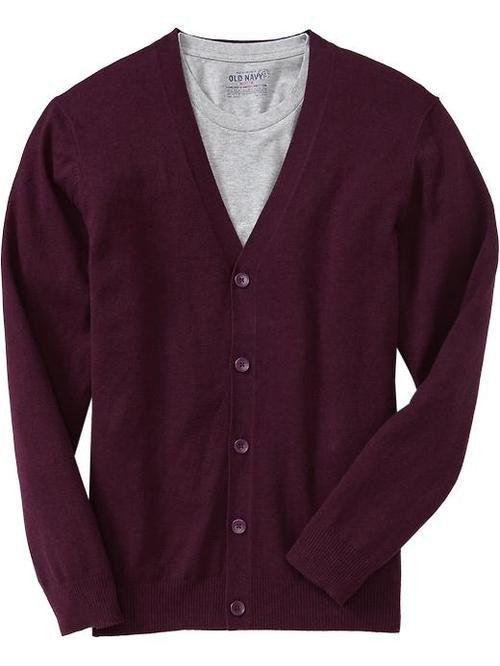 Nice red cardigan from Old Navy.  $22.50