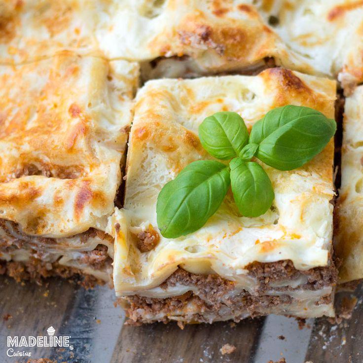 Lasagna Bolognese pentru copii / Toddler friendly Lasagna