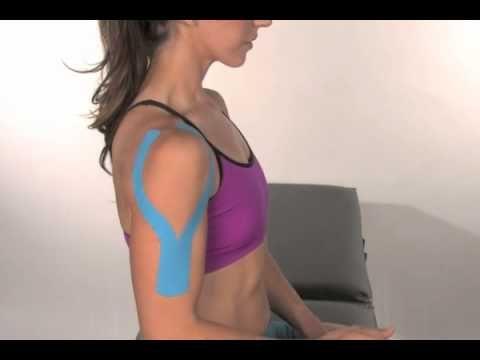 kt tape shoulder instructions