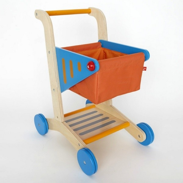 Let your little one shop in style with this adorable grocery cart from Hape! Super cute!!