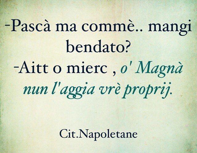 Vedi la foto di Instagram di @citazioni_napoletane • Piace a 160 persone