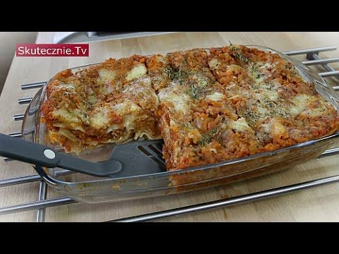 Lasagne z mięsem i warzywami (odchudzona i lżejsza) :: Skutecznie.Tv [HD] - YouTube