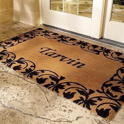front door mat stenciles traditional doormats by frontgate