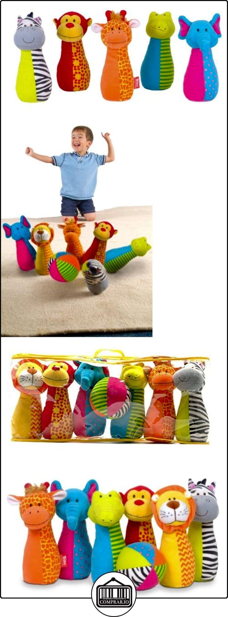 Fiesta - Boliche en niños con pelota blanda y animales de peluche como bolos  ✿ Regalos para recién nacidos - Bebes ✿ ▬► Ver oferta: http://comprar.io/goto/B00BN6L2Y8