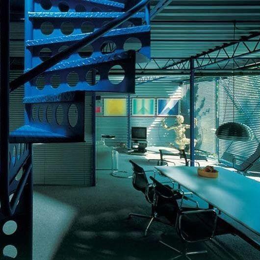 Michael Hopkins House. 1976 #architect #architecture #hightech #70s #design #interiors by albertofrancogomis