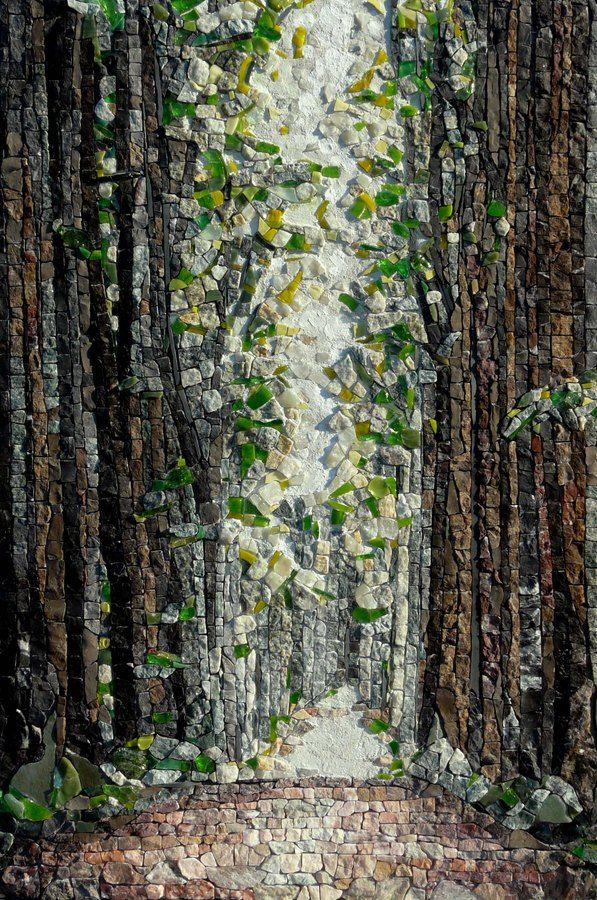 Tree Forest Mosaic