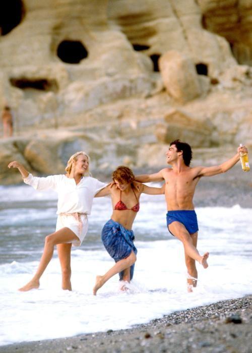 Valerie Quennessen Summer Lovers | SUMMER LOVERS, Daryl Hannah, Valerie Quennessen, Peter Gallagher, 1982 ...
