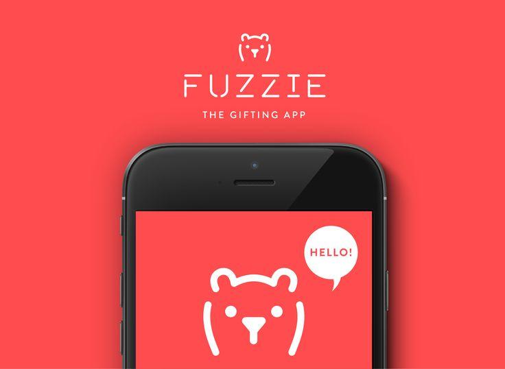 """다음 @Behance 프로젝트 확인: """"Fuzzie"""" https://www.behance.net/gallery/44449841/Fuzzie"""