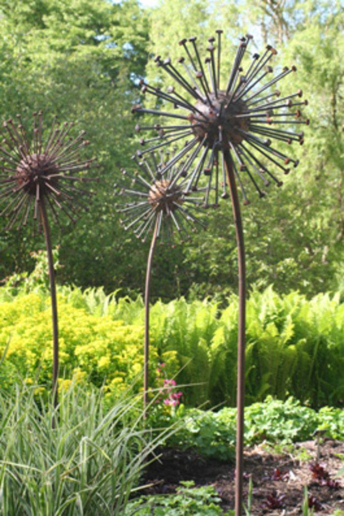 1392 Best Garden Junque U0026 Art Images On Pinterest   Yard Art, Metal Art And  Garden Sculptures