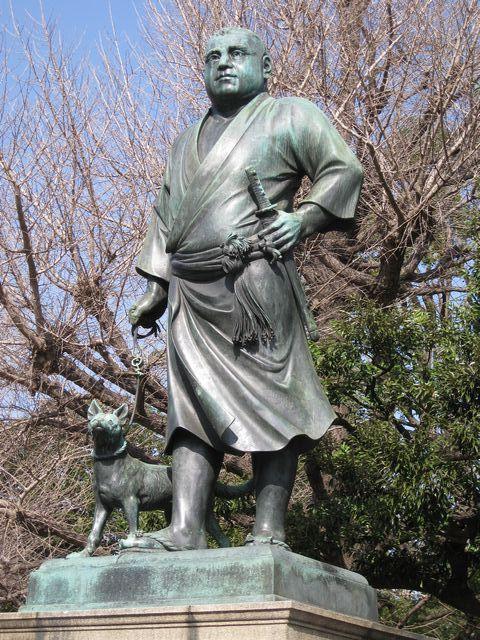 高村光雲作(犬は後藤貞行作)西郷隆盛像(東京上野恩賜公園)